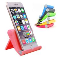 стоять человек iphone оптовых-Универсальный общий 6 цветов Силиконовый ленивый человек ПК держатель дисплей стенд показан для iPhone Samsung сотовый телефон держатель мобильного телефона