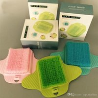 Wholesale massage rooms resale online - Bathroom Clean Foot Brush Massage Brush Scrubber Remove calluses Hard Dead Rough Dry Skin Callus Room Tools XL G214