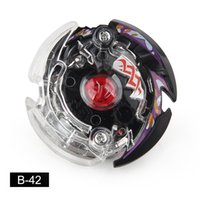Wholesale fighting tops for sale - High Quality Mini Battle Spinning Top Black Gyro Top Beyblade Plastic Fight Metal D For Sale