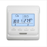 Wholesale room thermostat controller resale online - M6 V A LCD Programmable Electric Digital Floor Heating Room Air Thermostat Warm Floor Controller
