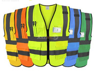 Wholesale cycle safety clothing for sale - High Quality High Visibility Reflective Vest Working Clothes Motorcycle Cycling Sports Outdoor Reflective Safety Clothing