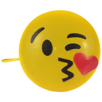 Wholesale mini stockings sale for sale - Group buy Wireless Bluetooth Control Loudspeaker Box Yellow Emoji Emotion With Stand Lanyard Portable Plastic Mini Voice Boxes Hot Sale dx hh