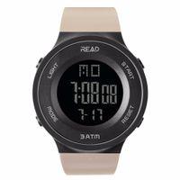 ingrosso vestito di stile dell'esercito-30Meters Swim Dress Sport Watches LEGGERE Marca Army Green Style digitale Orologi Uomo Digital Sport Orologio maschile 90003