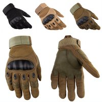 Wholesale Mitten Wear - Tactical Gloves Touchscreen Hard Knuckle Mitten For Motorcycle Outdoor Antiskid Wear Resistant Gloves Support FBA Drop Shipping G696F
