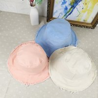 Wholesale Beach Batch - The new cotton ladies out all-match fisherman hat fashion summer sun travel cap can be mixed batch
