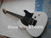 ingrosso parti di chitarra di qualità-Spedizione gratuita! Tele chitarra bianca di alta qualità tele chitarra EMG pickup standard chitarra elettrica per telecaster parti nere in magazzino