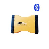 Wholesale tcs cdp bluetooth - Multi Vehicle Diagnostic tool mvdiag Bluetooth MVD 2015.3 R3 with keygen TCS CDP Pro work for Car Truck General 3 in 1