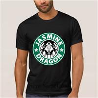 tea fine 2018 - Character The new the jasmine dragon t shirt summer JASMINE DRAGON FINE TEA Lady t-shirt mens Euro Size S-3xl tshirt men
