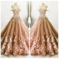 modern elbiseler çevrimiçi toptan satış-Kapalı Omuz Dantel Tüy Süslenmiş Quinceanera elbise Sevgiliye Balo Parti Törenlerinde 2018 Resmi Özel Online Özel Günlerinde Giymek Güzel