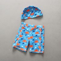 2021931f96460 2018 New Child Summer Clothing Kids Cute Cartoon Boy Swim Trunks Children  Swimming Shorts Boys Beach Swimwears Boy's Swimsuit