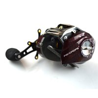 Wholesale fishing reel left handed resale online - Fishing Baitcasting Reels Casting Low Profile Reels Left Right Hand Type Clever Fishdrops Reel Easy To Carry Exquisite Hot Sale yd bZ