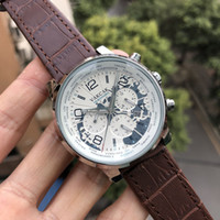 Wholesale Map Fold - VAKCAK White Map Transparent Back Luxury Brand New Mechanical Mens stainless steel Automatic Watch Sports Self-wind Watches Wristwatch