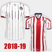 b4676deec 2018 2019 CD Chivas Guadalajara Jersey Men Soccer 20 PIZARRO 10 LOPEZ 14  ZALDIVAR 9 PULIDO 11 BRIZUELA Football Shirt Kit Team