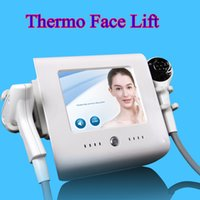Wholesale portable radio frequency lifting resale online - thermo focused facial portable rf radio frequency machine thermo face lift vacuum body slimming machine salon use