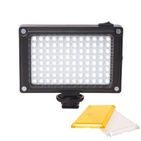 Wholesale led camera video lamp - 96 Camera LED Video Light Photo Studio Light on Camera with Hot shoe for Canon Nikon Sony DV SLR zhiyun Smooth Q Gimbal