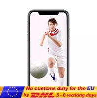 Wholesale Video Camera Covers - 2018 Seal Box 5.5inch Goophone x goophone ix face recognition Wireless Charging glass cover 4g lte Octa Core 4G Ram 32G Rom Show 256Gb