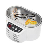 maquina para joyería al por mayor-mini máquina ultrasónica limpiador para la limpieza de la joyería reloj gafas inteligente control de limpieza baño ultrasónico Tool KKA5857