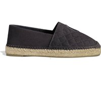 Wholesale black hee - New Fashion Canvas and Real Lambskin women Espadrilles Flat hee Shoe Summer Sandals Espadrilles Size EUR 34-40 4 Colors with Box YF060203
