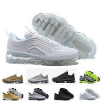ingrosso misure delle scarpe giappone-HOT New Cheap Mens sport Air Sports 97 scarpe da corsa, Premium OG Neon Cool Grey scarpe sportive sneakers taglia 36-46