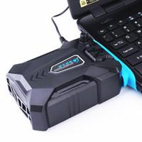 usb vakuumkühlerlüfter großhandel-Vakuum tragbare Notebook Laptop Kühler USB Air externe Extrahieren Lüfter für Laptop Geschwindigkeit einstellbar für 15 15,6 17 Zoll