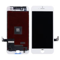 Wholesale Repairs Warranty - Grade AAA+ For iphone 8 LCD Display Digitizer Touch Screen Assembly With Frame For iphone 8 Plus Repair Part Real 3D Touch Lifetime Warranty
