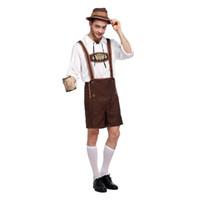 ropa oktoberfest al por mayor-Oktoberfest Disfraz de Halloween Escenario para adultos Ropa para hombres