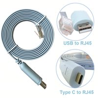 Wholesale router rj45 - USB Console Cable FTDI chip USB to RJ45 Console Cable for Cisco Routers Setting and Controlling