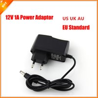 Wholesale 9v Ac Adapter Charger - Power adapter Switching Power Supply US UK AU EU Plug charger Power Adapter AC 100-240V DC 12V 1A 9V 1A 6V 5V 1A