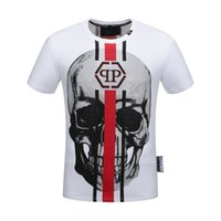 Wholesale product stands - 8349 men t-shirt fashion Product Spring And Summer Body Short Sleeve Show Solicitude Foreign Trade Round Neck European