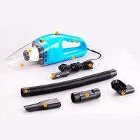 Wholesale Super High powered Handheld Portable Mini Car Vacuum Cleaner Wet and Dry Dual Use in Strong Motor with W V Factory Priced