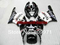 kawasaki ninja oeste venda por atacado-K245 Mobil WEST branco preto completo Carenagem para KAWASAKI Ninja ZX7R 96-03 ZX-7R1996-2003 ZX 7R 96 97 98 99 00 01 02 03 1996 2003