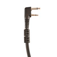 gizli telsiz konuşmaları toptan satış-Etmakit Anti Radyasyon Mic Mikrofon Gizli Akustik Tüp Kulaklık Kulaklık ICOM Iki Yönlü Telsiz Walkie Talkie Için