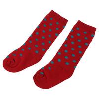 rote babysocken großhandel-Baby Kinder Kinder Dot Socken (L, Rot)