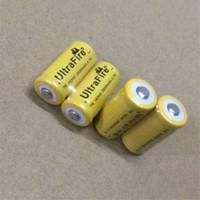 wiederaufladbare lithium-batterie cr123a großhandel-Hochwertige Ultrefire Batterie CR123A 16340 2600 mAh 3,7 V wiederaufladbare Lithium-Batterie Kostenloser Versand
