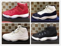 Wholesale fishing like - 2018 Classic 11s Gym Red Space Jam Chicago Win like 82 Men Basketball Shoes 11 Athletic Sports Sneakers US 7-13