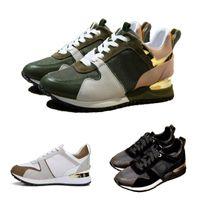 ingrosso scarpe da ballo nero in raso-Artefatto di appuntamenti per scarpe di lusso da uomo di design Scarpe casual da donna Sneaker da night club materiale avanzato Oro marrone Nero bianco con scatola