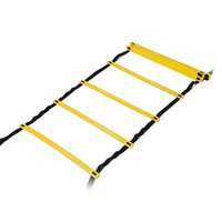 Wholesale good carry bag online - Children AGILITY LADDER Pace Training Equipment Outdoor Sport Multiple Colors Good Toughness Easy Carry Durable Woven Bag zx cc