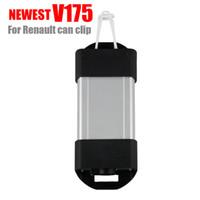 ingrosso l'attrezzo diagnostico renault può clip-Nuovo V175 di alta qualità 3pcs / lot per l'interfaccia OBD2 dell'interfaccia dell'automobile di OBD2 dell'interfaccia della clip dell'interfaccia della macchina di arresto di Renault CAN