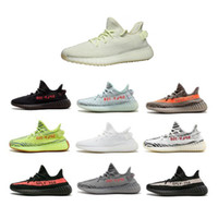 new style 5a519 16610 adidas yeezy boost supreme off white nike air vaporad1das-yee2y Original  Real mantequilla 350 V2 Zebra   Beluga   Blade   Crema zapatillas para  Kanye West ...
