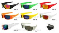 Wholesale Mens Bicycles - New Fashion fuel cell Sunglasses For Men Women Sport Cycling Bicycle Mens Sunglasses 8 color Google Sun Glasses