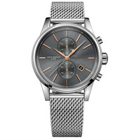 Wholesale casual watches online - New fashion individual men s watch original packing retail free delivery