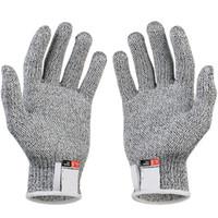 metal örgü eldiven toptan satış-Anti-cut Eldiven Güvenlik Cut Proof Bıçak Dayanıklı Paslanmaz Çelik Tel Metal Mesh Mutfak Kasap Cut-Dayanıklı Emniyet Eldivenler