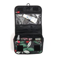 Wholesale hanging fashion accessories for sale - Group buy Leaves Hanging Cosmetic Toiletry Bags Travel Organizer Beautician Necessary Functional Women Makeup Wash Pouch Accessories Supplies