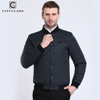 Wholesale Class Clothes Men - City Class 2017 Bomber Jacket Men Fashion Quilted Jackets Flight Pilot Brand Coats Motorcycle Male Casacos Brand Clothing 17904
