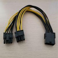 tarjetas de video pcie al por mayor-Cable PCI-E PCIE E-P Cable Cable de alimentación Cable de alimentación 18AWG