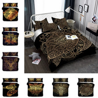 Wholesale 3d bedding pc set for sale - New styles US AU Size Luxury Bedding Set Duvet World Map Printed Bed Cover Set King Sizes Duvet Cover Bedding Set T6I025