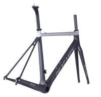 Wholesale 58cm frame for sale - T800 lighter Carbon Road Bike Frame Di2 and Mechanical carbon Road frame K cm BBright racing road bicycle frame