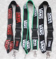 heiße neue lanyards großhandel-heiße neue 10pcs Logo Hals Lanyard gemischte Handy Branded für Frauen Männer Schlüsselanhänger # 91501