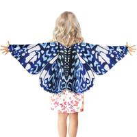 ingrosso le ali delle danze di ballo-100 pezzi speciali bambini danza costumi ala maschera ali di farfalla ragazze carnevale spettacolo fata costume per ragazza