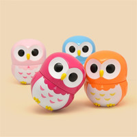 Wholesale multi alarms for sale - Group buy 60 Minute Mechanical Timers Owl Shape Kitchen Timer Creative Cute Plastic Alarm Clock Cooking Baking Tool yy C R